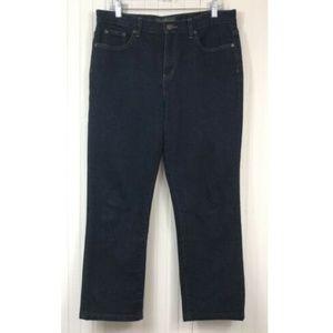 Ralph Lauren Classic Straight Leg Jeans Sz 10 L27